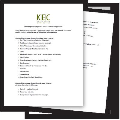 Checklist for Mediation